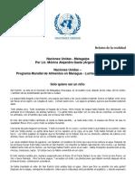 Relato - Naciones Unidas - Monica Alejandra Gaeta