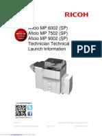 Aficio Mp 6002