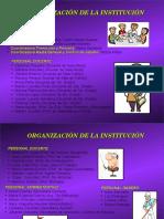 Organización y personal.