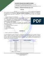 Modelo Acta de Comision y Promocion Despues de a.c.e.s