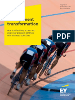 EY PRM Portfolio Management Transformation