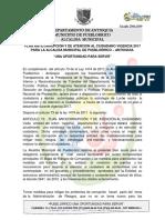 Plan Anticorrupcion y de Atencion Al Ciudadano 2017 Para La Alcaldia Municipal de Pueblorrico _1