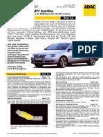 VW Passat 2.0 TDI DPF Sportline