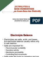 Keseimbangan Asam-Basa Dan Elektrolit