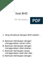 Soal BHD