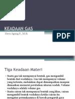 Keadaan Gas