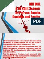 Kill Bill- Use of Split Screen