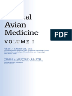 Clinical Avian Medicine