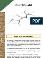 Earthquke Presentation