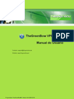 TheGreenBow VPN Mobile - User Guide (Portuguese)