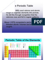 Lect 2 Periodic Table