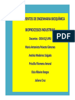 Fundamentos da Engenharia Bioquimica - Aula 1