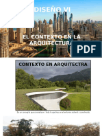 El Contexto en la Arquitectura