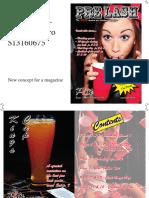 Magazine Production Portfolio