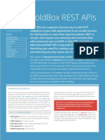 ColdBox REST APIs Refcard