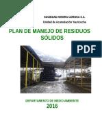 1. Plan de Manejo de Residuos Solidos 2016 (1)