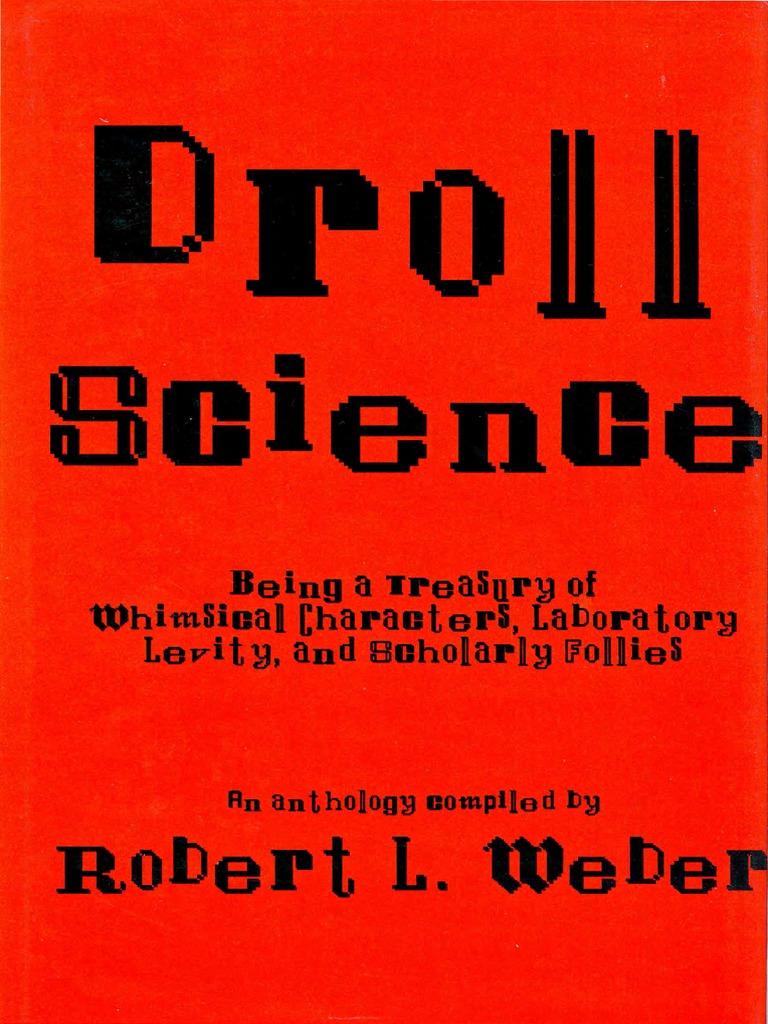 e2e213323eab Droll Science - Robert L. Weber
