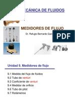 Unidad 9 Medidores de flujo.pdf