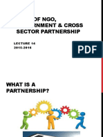 Cross Sector Partnership
