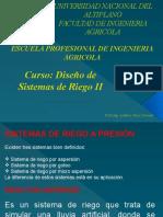 Diapositivas Riegos II-Aspersion