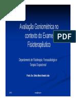 Avaliaçao goniométrica