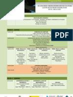 Programación del 3er Congreso Iberoameriacno de Cultura