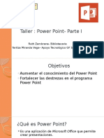 Taller- Power Point -Parte I