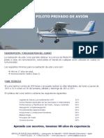 PPLA ACBS - Curso Piloto Privado Avión - 2016