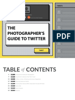 Photographers Guide to Twitter