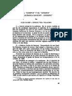 El Corpus y El Animus La Polemica Savigny Ihering