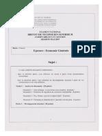 Economie Generale 2007