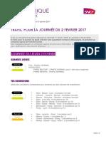 CP Info Trafic 2 Février