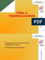 triangulacion en  topografia I