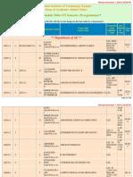 Course Schedule Pr 201617 2
