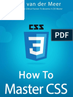 How to Master CSS