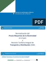 El informe completo del Ministro de Energía y Minería