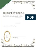 Premio Original