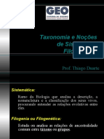 TAXONOMIA SISTEMATICA FILOGENETICA.ppt