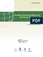 Proceedings of the Inaugural Meeting of the East Asian Seas Partnership Council