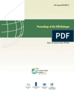 Proceedings of the ICM Dialogue