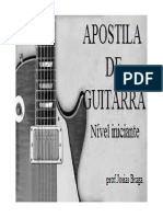 Apostila de Guitarra Iniciante PDF