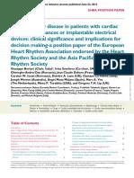 Chronic Kidney Disease Cardiac Arrythmias
