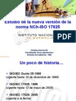 Estudio de La Nueva Version de La Norma NCh-IsO17025