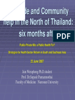 3_Mudslide and Community Help in the North of Thailand