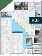 Mapa Poblaciones Vulnerables Por Activación de Quebradas Secas en Arequipa 2016-2017