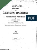 Dicionário histórico e documental dos architectos, engenheiros e construtores portugueses