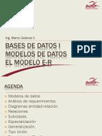 MODELOS DE DATOS E-R