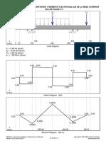 Diagramas v y M Del Eje de La Maza Superior en El Plano x y