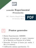 Presentación_Diseño Experimental