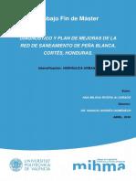 -RIVERA - DIAGNÓSTICO Y PLAN DE MEJORAS DE LA RED DE SANEAMIENTO DE PEÑA BLANCA, CORTÉS, HONDURAS.pdf